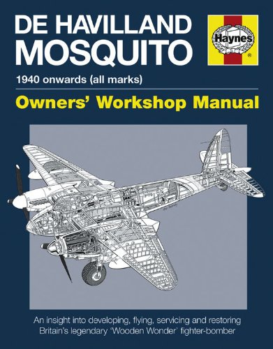 De Havilland Mosquito Manual: An Insight into Developing, Flying, Servicing and Restoring Britain's Legendary 'Wooden Wonder' Fighter-bomber (Owners Workshop Manual)