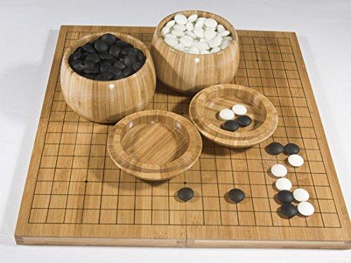 Go-Spiel: Yunzi-Set Bambus, gedruckte Linien