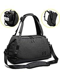 b00a1412cb ITSHINY Sac de Sport Homme, Sac à bandoulière de Sport Femmes, Sac à Dos de  Voyage Unisexe Duffle Bag Design 3…