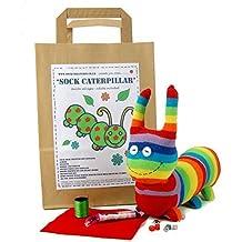 Sock Caterpillar Craft Kit by Sock Creatures