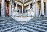 POSTERLOUNGE Forex-Print 180 x 120 cm: Lions Staircase, Queluz Nat. Palace by Gabrielle & Michel Therin-Weise/Robert Harding