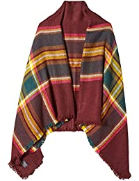 Joules Women's Heyford Large Warm Handle Square Wrap