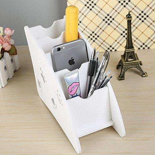 LAD-I Desktop Organizer Fernbedienung Aufbewahrungsbox Schreibtisch Aufgeräumt Mini Kosmetik Aufbewahrungsbehälter