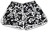 A-Express® Floral Black Shorts - Fit only (UK Size 8-10)