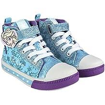b67ba7e77d4f Disney Frozen 2300002941 Scarpe Tela, Luce LED, Bambina, Elsa, Anna (27