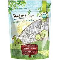 Food to Live Polvo Bio certificado del ajo (Eco, Ecológico, Non-GMO, Kosher, Bulk) (1 Pound)