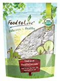 Food to Live Polvo Bio certificado del ajo (Eco, Ecológico, Non-GMO, Kosher, Bulk) – 1 libra