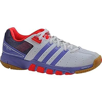 Adidas - Quickforce 7 W - B40175 - Couleur: Blanc-Violet - Pointure: 36.0
