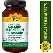 País vida objetivo min Calcio Magnesio Potasio 500 mg/500mg/99mg ...