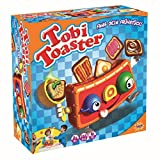 Splash Toys 30180 - Geschicklichkeitsspiel Tobi Toaster, Kinderspiel mit herausspringenden Toastscheiben zum Fangen, ideal für 2 bis 4 Kinder ab 4 Jahre