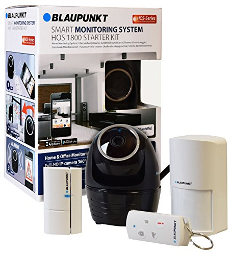 Blaupunkt Security HOS-1800 - Kit de alarma con cámara IP...