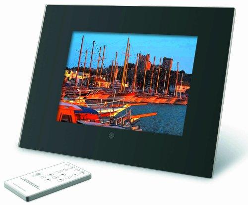 Braun DigiFrame 8000 Digitaler Bilderrahmen (20,3 cm (8 Zoll) Display, 4:3, 128MB interner Speicher) schwarzes Acrylglasdesign