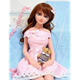 La ropa para la 65cm/80cm muñeca Mini Blanco Commercial–Ropa para Género 65cm/80cm, no contienen muñecas