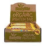 BodyMe Biologique Barre de Protéines Végétalien | Cru Maca Cannelle | 12 x 60g |...