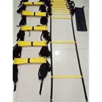 Shi18sport Escalera de ágiles, Escalera de Rejilla, Velocidad, Energía y Entrenamiento Físico, Entrenamiento de Fútbol