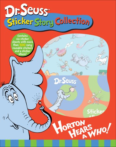 Dr. Seuss Sticker Story Collection Horton Hears a Who!