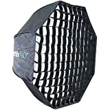 Phottix Octa Easy-Up HDBoîte à lumière avec grille de 80cm et rotule Varos XS