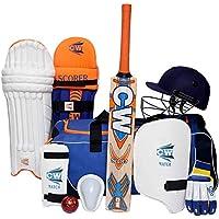 CW SCOREMASTER - Juego Completo de críquet con Bolsa de Equipaje para niños y Adultos Mayores, 5 For 10-11 Yr