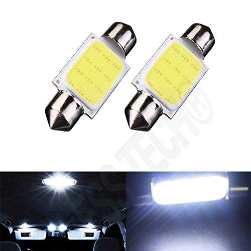 Preisvergleich Produktbild Soffitte 41-mm SV8COB 1,5W DC12V Lampe Innen Auto Nachtlicht Platte Premiumqualität Licht Effekt bläuliches ESS Tech®