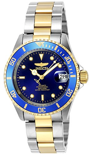Invicta-Unisex-Pro-Diver-Automatic-Watch-with-Analogue-Display-and-Stainless-Steel-Bracelet