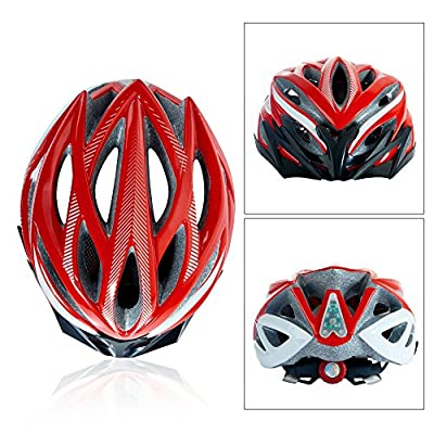 Fengding Cycle Helmets for Men and Ladies, Male and Female Road/Mountain Adjustable Cycle Helmet for Head Protection by Fengding