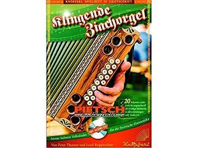 Klingende Ziachorgel mit CD - Steirische Harmonika
