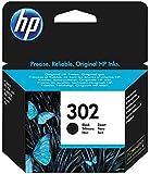 HP 302 F6U66AE Cartuccia Originale, da 190 Pagine, per Stampanti HP DeskJet Serie 1100, 2130, 3630, 5200, HP Envy Serie…