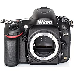 Nikon D610 Appareil photo numérique Réflex 24,7 Mpix Boîtier Nu Noir