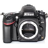 Nikon D610 SLR-Digitalkamera (24,3 Megapixel, 8,1 cm (3,2 Zoll) Display, Full HD, Superempfindliches AF-System) nur Gehäuse schwarz