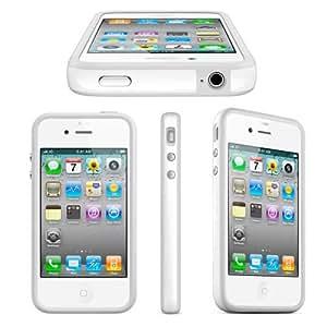 Original Apple Bumper iPhone 4 4S Weiss - MC668ZM/B