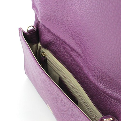 Pochette in pelle RAISIN