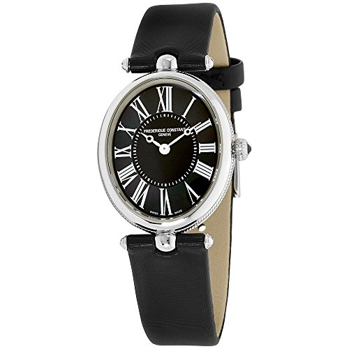 Frederique Constant Women's Classics Art Deco Black Quartz Watch FC-200MPB2V6