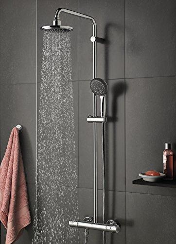 grohe vitalio start 160 sistema de ducha con termostato fontaneria online. Black Bedroom Furniture Sets. Home Design Ideas