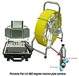 Dia. 50mm Pan Tilt Rotación vídeo cámara de inspección para cámara de inspección endoscopio