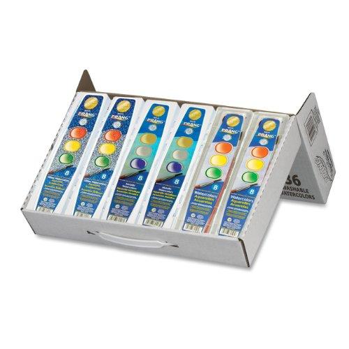 Prang waschbar Aquarell Set Master-Pack Classic/Glitter/Metallic -