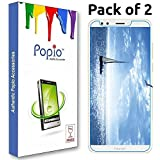 POPIO Tempered Glass for Huawei Honor 7C - Pack of 2