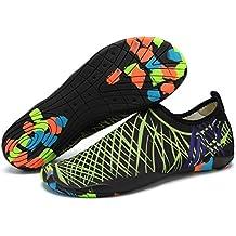 Zapatos de Agua Hombre Mujer Zapatillas Snorkel Buceo Surf Piscina Playa  Deportes Acuáticos Escarpines Yoga Vela b6190f4ff69