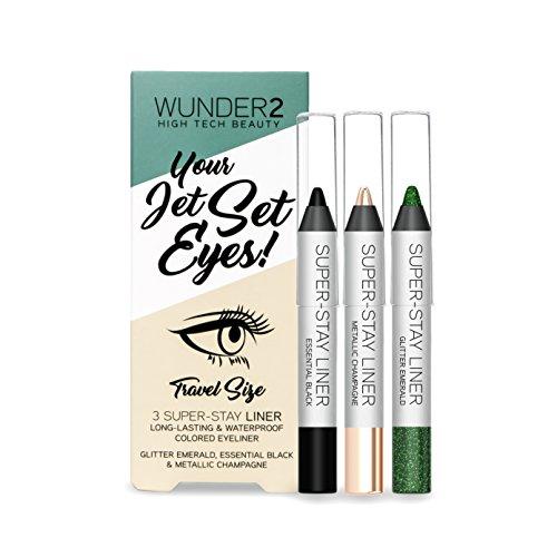 Wunder2 Superstay Mini Eyeliner Set - 3 Pezzi