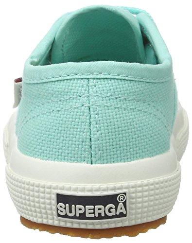 Superga Unisex-Kinder 2750 Jcot Classic Sneaker Grün (Green Aqua)