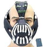 Halloween Maske mit Stimme Changer Cosplay Herren Erwachsene Gesicht Masken Kostüm Party Prop