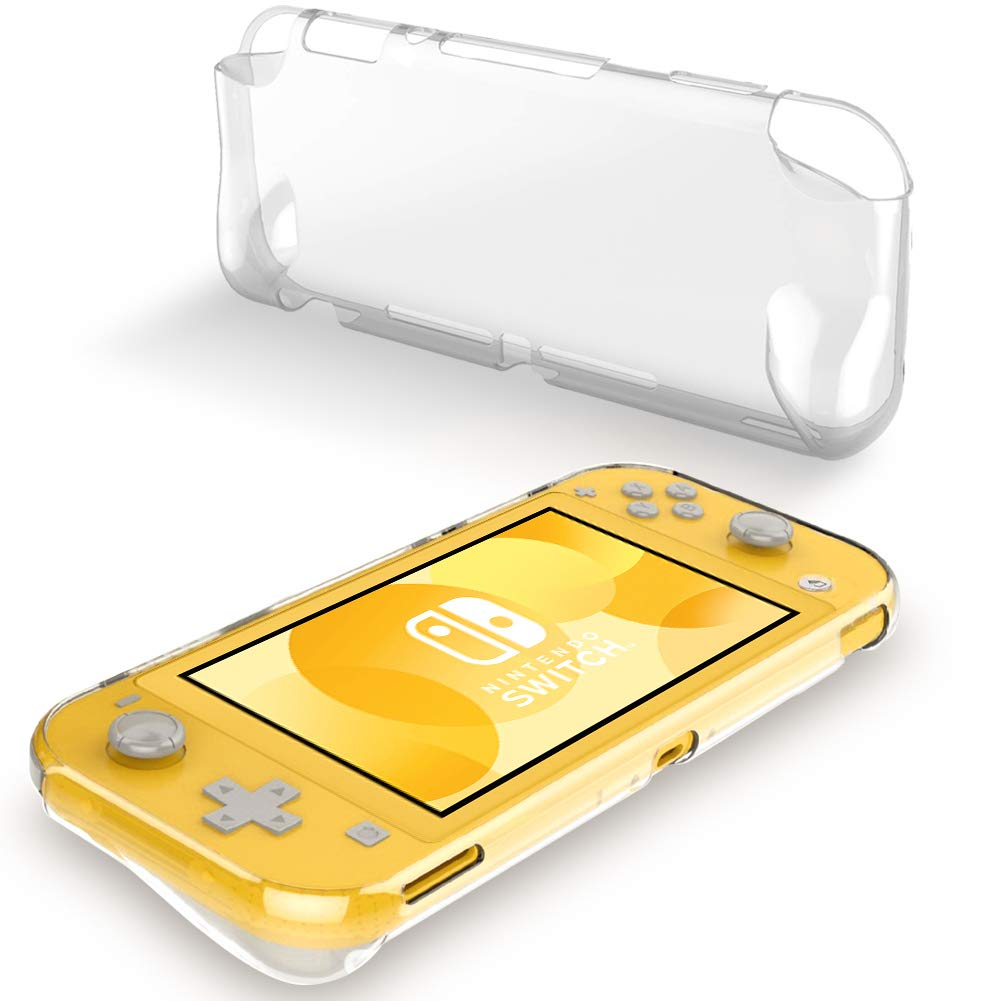 A-VIDET Coque Nintendo Switch Lite,Coque en Silicone Ultra-Mince Etui Souple Mate Couverture Complète Anti-Choc Anti-Empreinte Digitale Coque de Protection Simple pour Nintendo Switch Lite