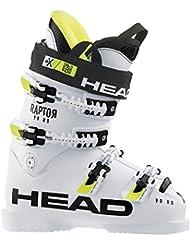 Head Raptor 90RS–Botas de esquí (White), unisex, blanco