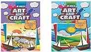 My Book Of Art & Craft Part -2 + My Book Of Art & Craft Part -1 (Set of