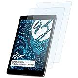 Bruni Schutzfolie für Medion LIFETAB P9702 (MD60828) Folie - 2 x glasklare Displayschutzfolie