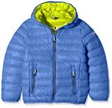 CMP Jungen Daunenjacke, Royal-Lime Green, 176, 3Z14754