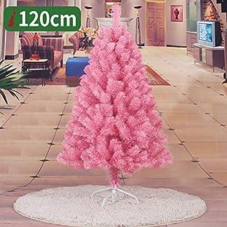 WZR Blanco Árbol De Navidad Artificial De Pino,120cm Árbol De Navidad Fácil De Montar con Sólido Soporte En Metal Decoración Navideña Interior Fiestas