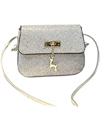 978968845e0b Amazon.co.uk  Silver - Girls  Handbags   Handbags   Shoulder Bags ...