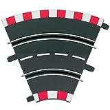Carrera PROFI 71501 - Kurve 1/45ø, 4 Teile