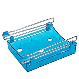 Vanker 1PC blu casa cucina frigorifero fresco distanziale strato multiuso, food Storage box rack