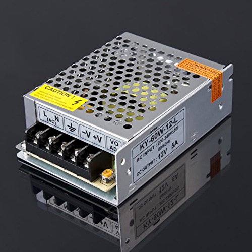 SaySure - 1Pcs 12V 5A 60W NEW Switching Switch Power Supply 5a Switching